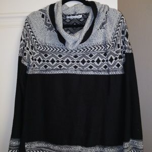 Maurices Black with silver top and bottom
